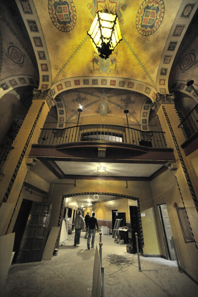 Renovations are under way in the State Theater building on Congress Street, and the owner plans to rent it as an entertainment venue again. The theater has been closed since 2006 after the operator was evicted.