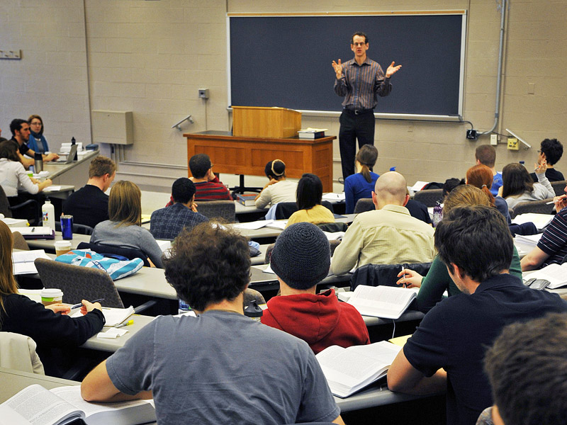 David Cole of Georgetown Law School has banned laptops for most of his students. A laptop, he argues,
