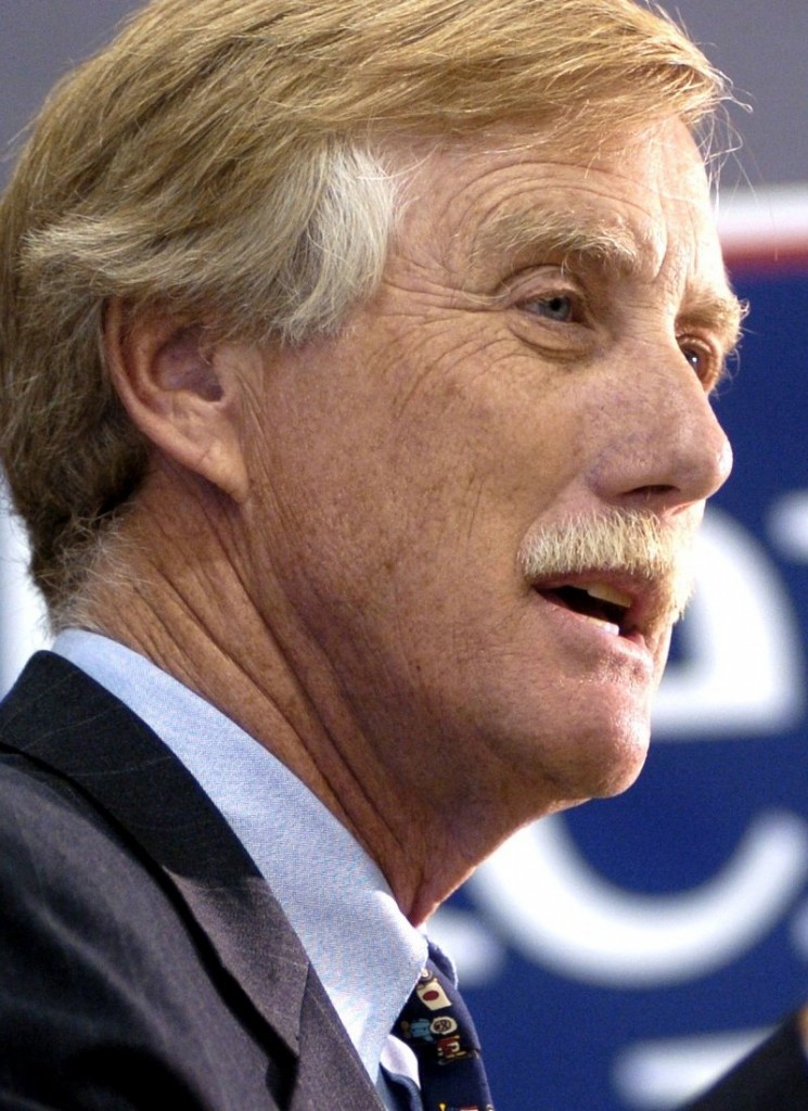 Angus King was twice elected governor of Maine as an independent