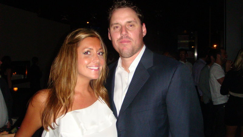 Krista Clark, a 1998 graduate of Sanford High School, met John Lackey when he was playing with the Anaheim Angels. When they got engaged, it caused a split in Krista's Sox-loving family.