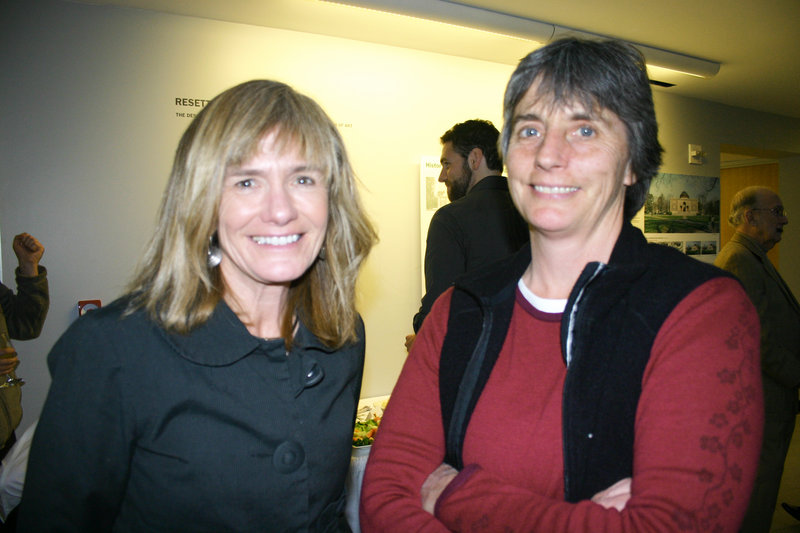 Laurie Hadlock and Katrina Van Dusen