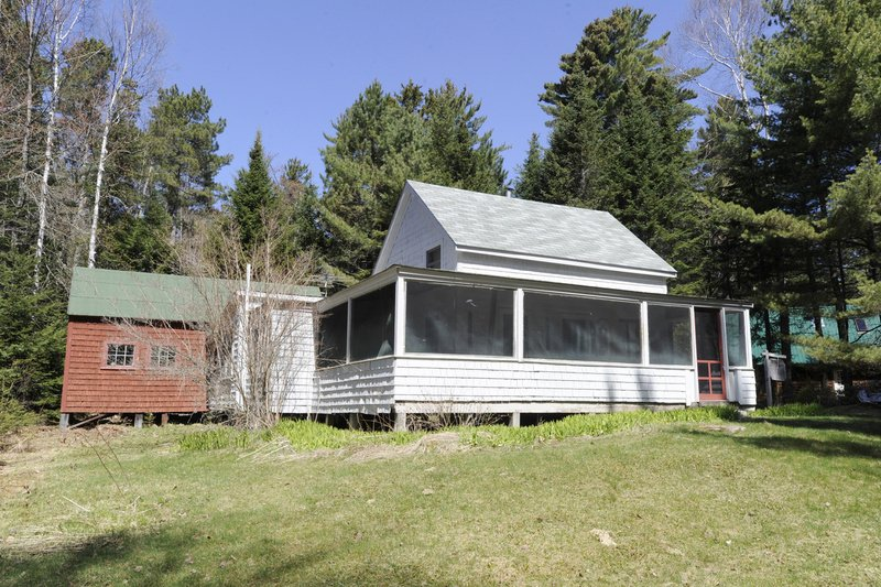 The cottage once owned by famed outdoorswoman Carrie Stevens, who helped shine a spotlight on the fishing at Upper Dam back in the 1920s.
