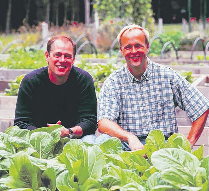 Mark Gaier, left, and Clark Frasier