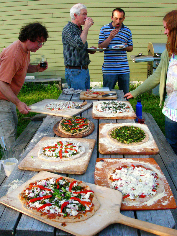 During a recent permaculture gathering at the Newforest Institute, which is the site of one of the Friday field trips, attendees enjoyed pizza made from garden-fresh ingredients and cooked in a wood-fired cob oven. During this weekend's Permaculture Convergence, participants can learn how to make a similar cob oven and enjoy meals prepared from organic, local foods.