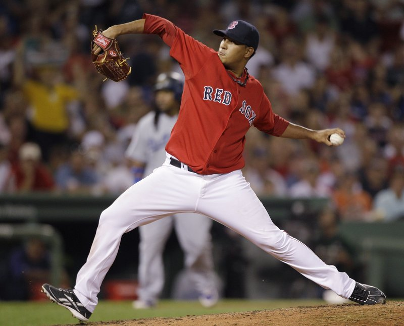 Felix Doubront, who signed with the Red Sox when Theo Epstein was general manager, was acquired by Epstein's Chicago Cubs in a trade Wednesday.