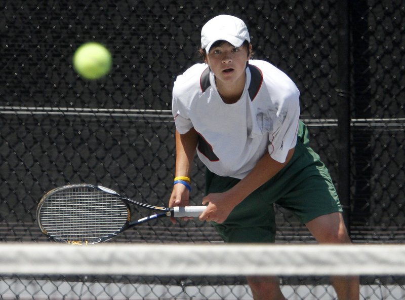 Brandon Thompson of Waynflete discovered this year how it felt to be the player to beat and handled the pressure well, winning the individual boys' state championship.