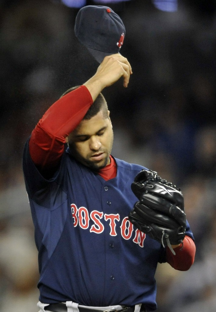 Manny Delcarmen has gone on the disabled list with forearm stress, causing more stress for the bullpen.