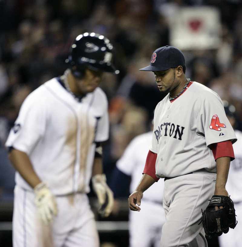 Ramon Ramirez, right, hasn't been the do-all, end-all in the bullpen, and isn't an end-of-close-game option.