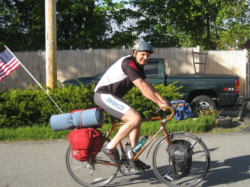 Luke Reinhard's 1,000-mile fundraising ride stemmed from a desire to do more with his life than just pursue a career.