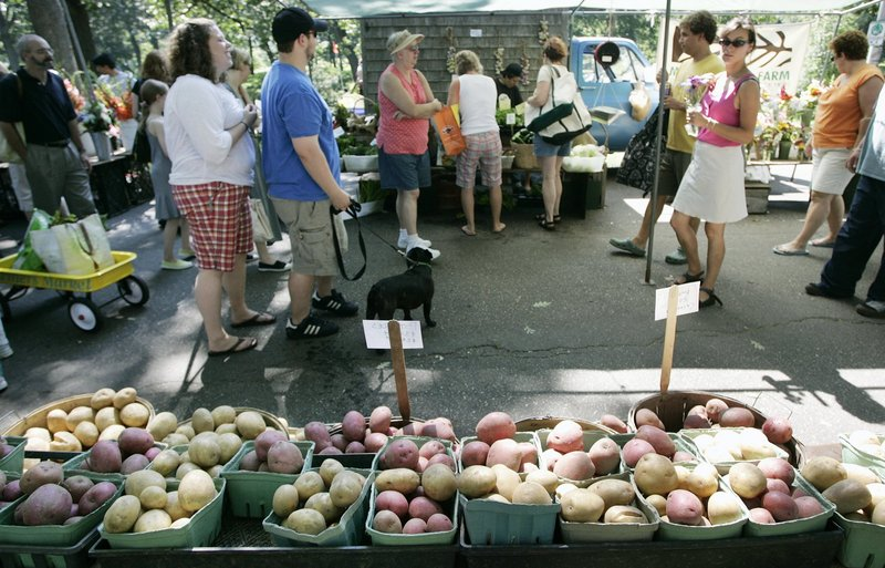 This Saturday at the Portland Farmers Market, you can buy extra produce and donate it to the Preble Street Resource Center in a drive organized by Animal Rights Maine.
