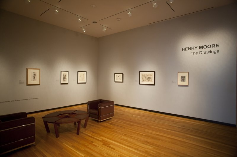 """""""Henry Moore: The Drawings"""" at the Bowdoin College Museum of Art in Brunswick"""