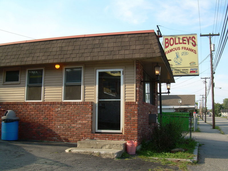 Bolley's in Waterville.