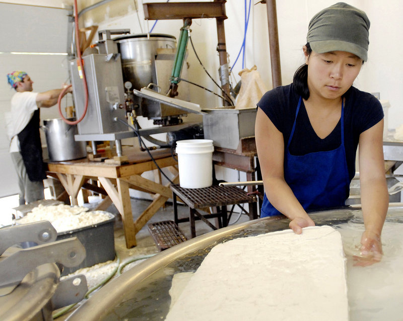 Local producers such as Maho Hisakawa, who with her husband owns a small tofu company in Camden, hope they can come to rely on Maine investors for loans to keep their businesses running.