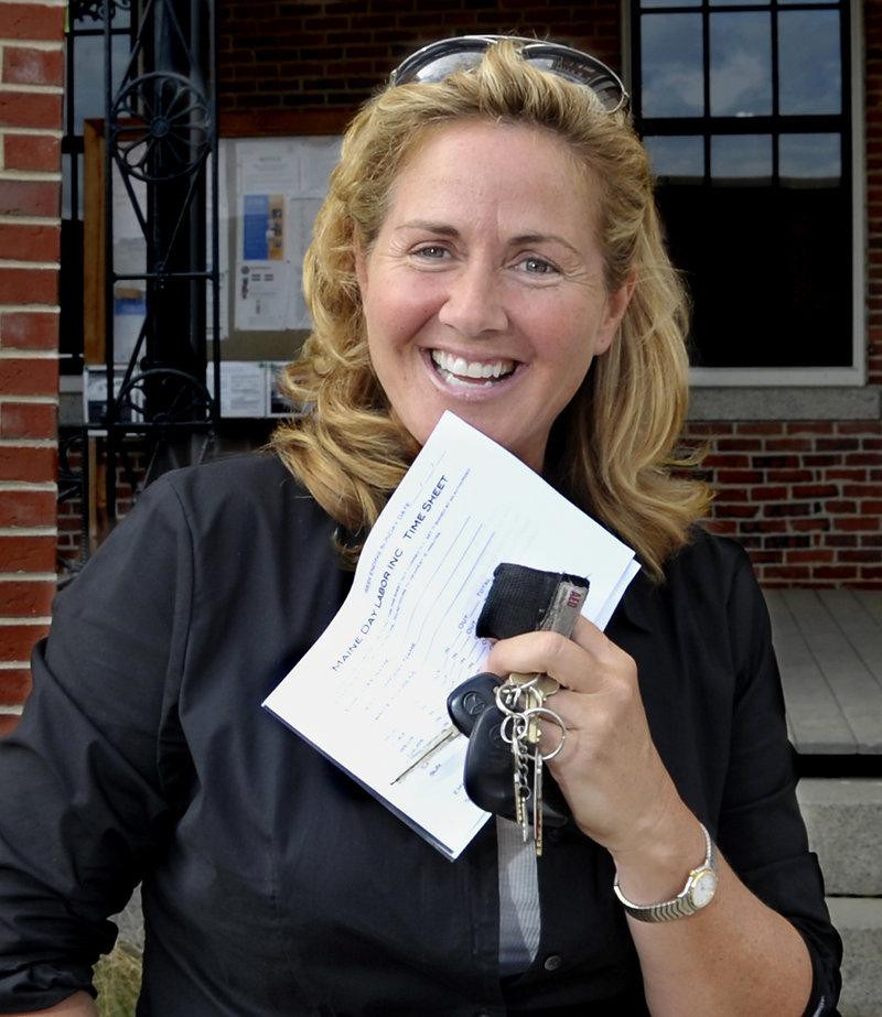 Margo Davies, co-founder, Maine Day Labor