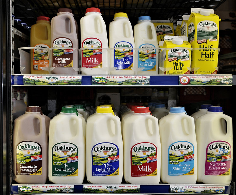 Maine sets a minimum price for milk to prevent large retailers from selling it below the price of production for the state's dairy farms. Shaw's offer dragged the price below the minimum.