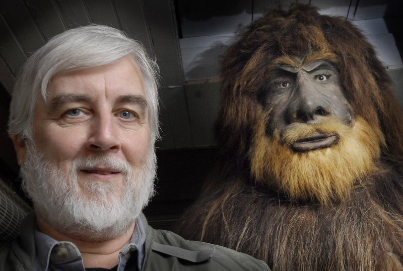 Portland's Bigfoot, right, and owner