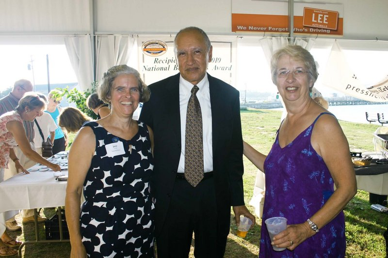 State Rep. Jane Knapp, SMCC President James Ortiz and state Rep. Anne Haskell.