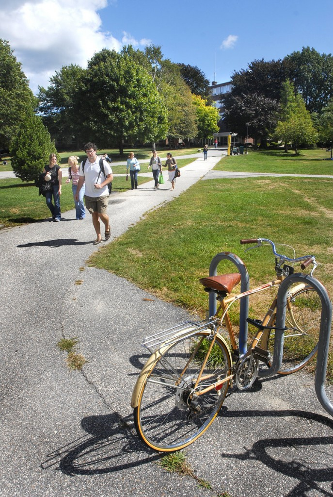 The American Institute for Economic Research rated Portland one of the nation's most livable small cities for students at the University of Southern Maine, above, and other colleges.