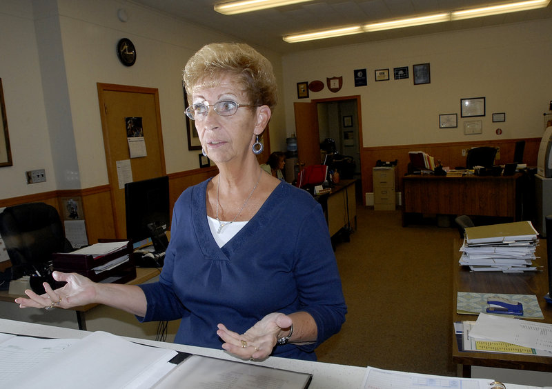 """Carol Binette, an office manager at Rubin-Fourtier & LaCourse Agency in Biddeford, said Friday that ethnicity doesn't factor into her decisions when she votes. """"I look at the candidates, I go by the person, the views."""""""