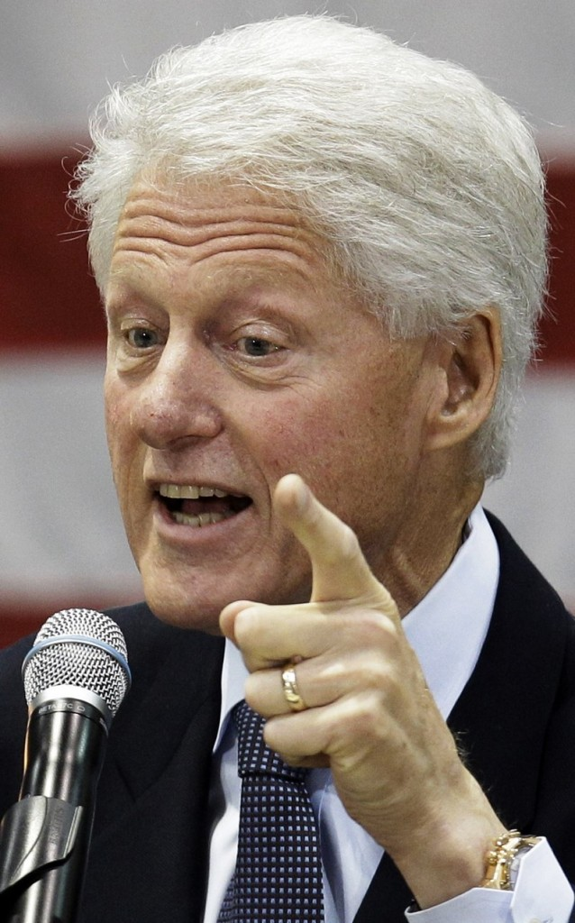 """Former President Bill Clinton is viewed as his party's political """"big gun."""""""