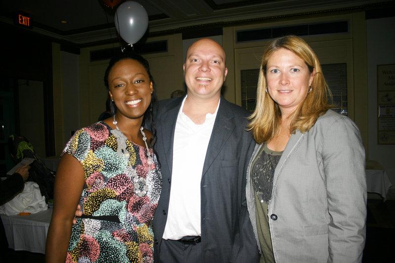 Moya Bell, Ken Bell and Anne Schutz