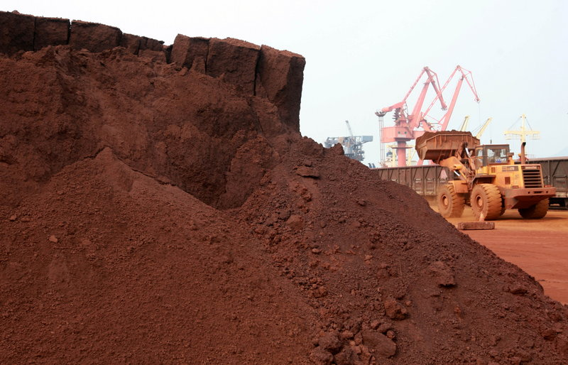 Rare earth is processed at the Port of Lianyungang in China's Jiangsu province earlier this month. Today's high-tech industries are using increasing amounts of rare earth in their products. Vehicles such as the Toyota Prius contain about 10 kilograms of rare earth, while a typical 3-megawatt wind turbine requires 1 ton.
