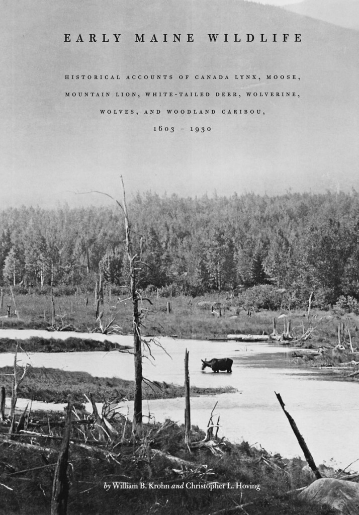 """""""Early Maine Wildlife"""" contains historical accounts of northern animals covering 327 years."""