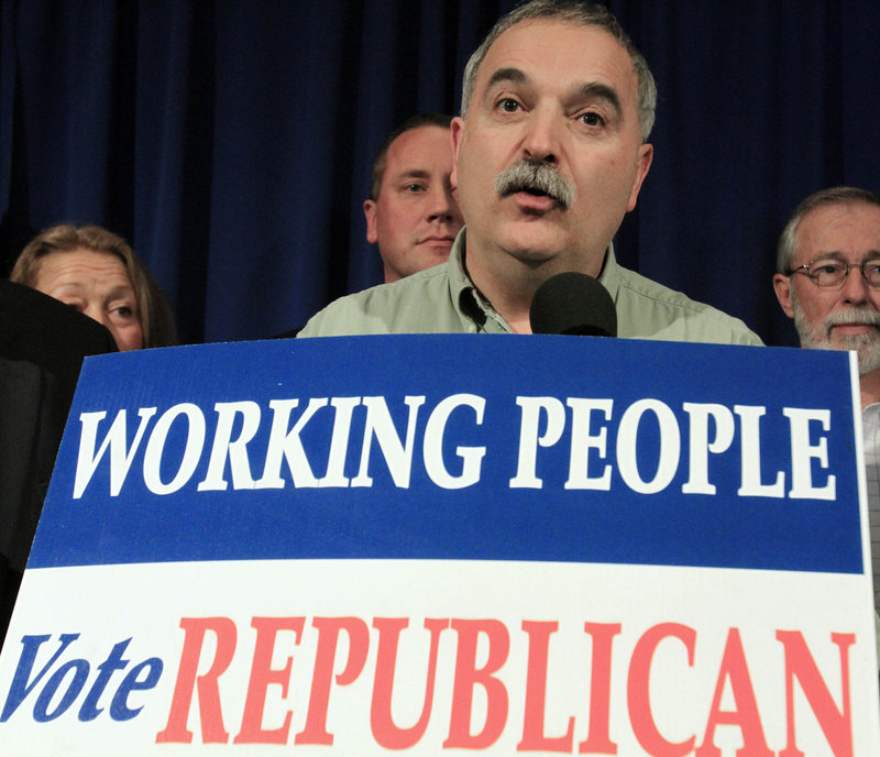 Charlie Webster, chairman of the Maine Republican Party, is credited by many for re-energizing the party just two years after Democrats had posted significant wins in 2008.