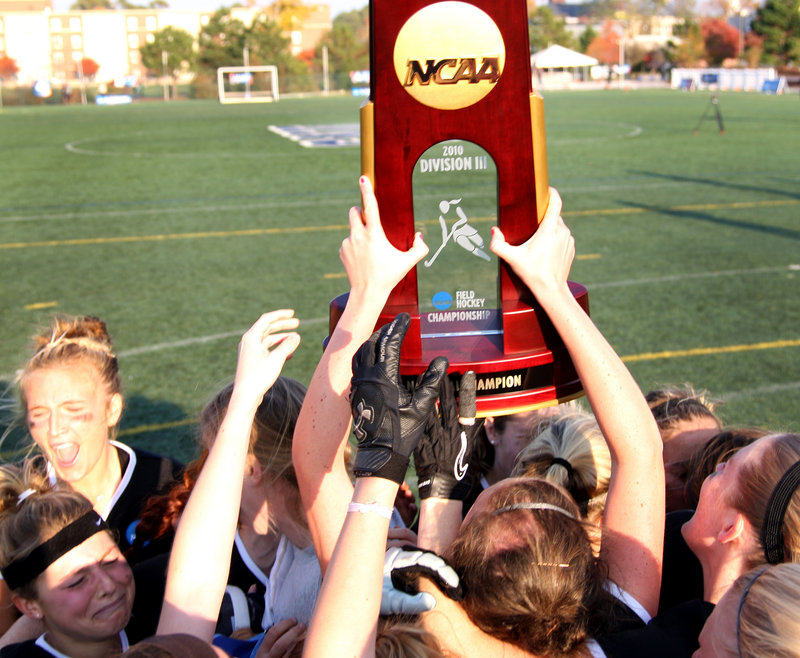 Bowdoin College wasn't just the best Division III field hockey program around, it was the best in the nation again, defeating Messiah College in a thrilling NCAA final.