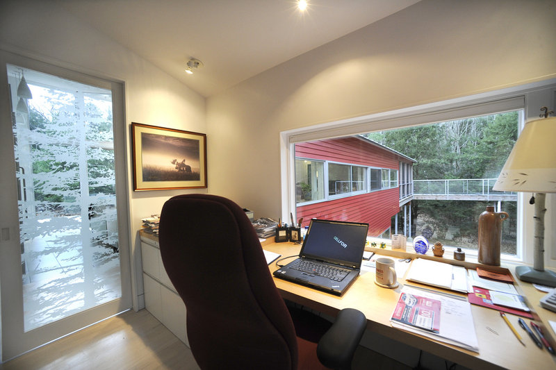 A home office.