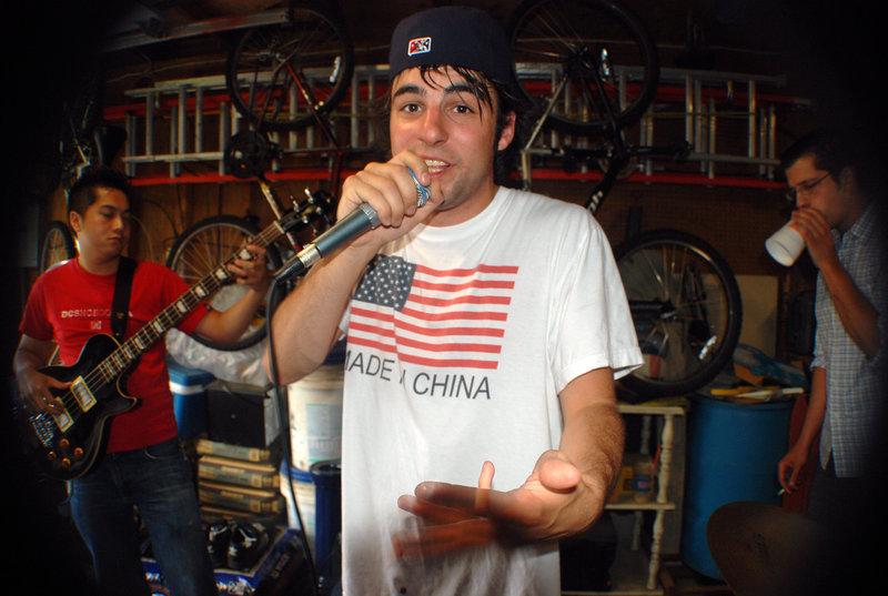 Ryan Peters, aka the rapper Spose