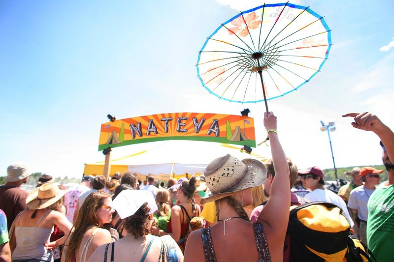 The Nateva rock festival
