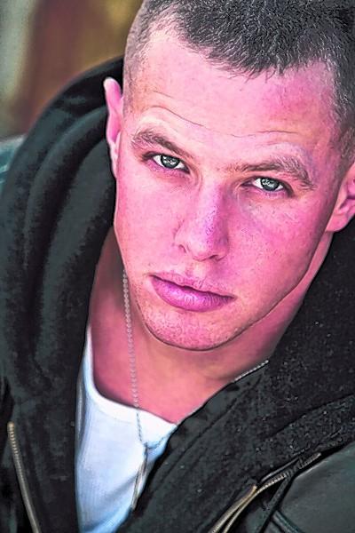 Soldier-turned-actor Ryan Ahern