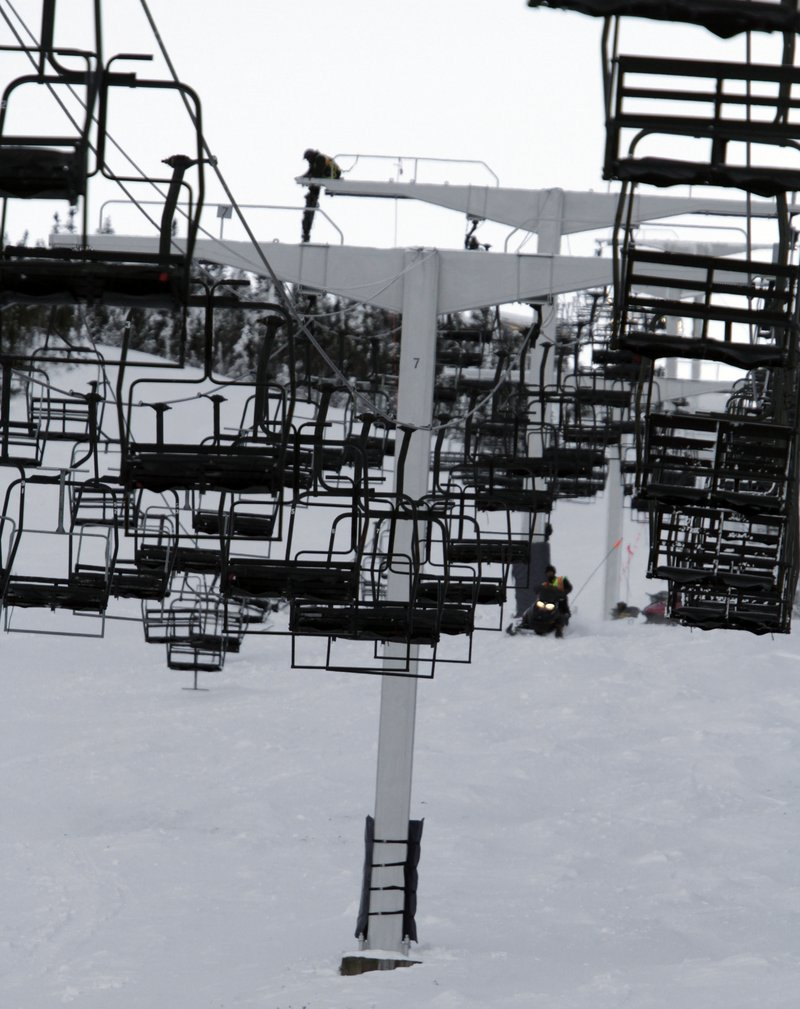 The Spillway East chairlift is at the top of Sugarloaf's list for planned improvements. The lift was properly licensed for the 2010-11 ski season.