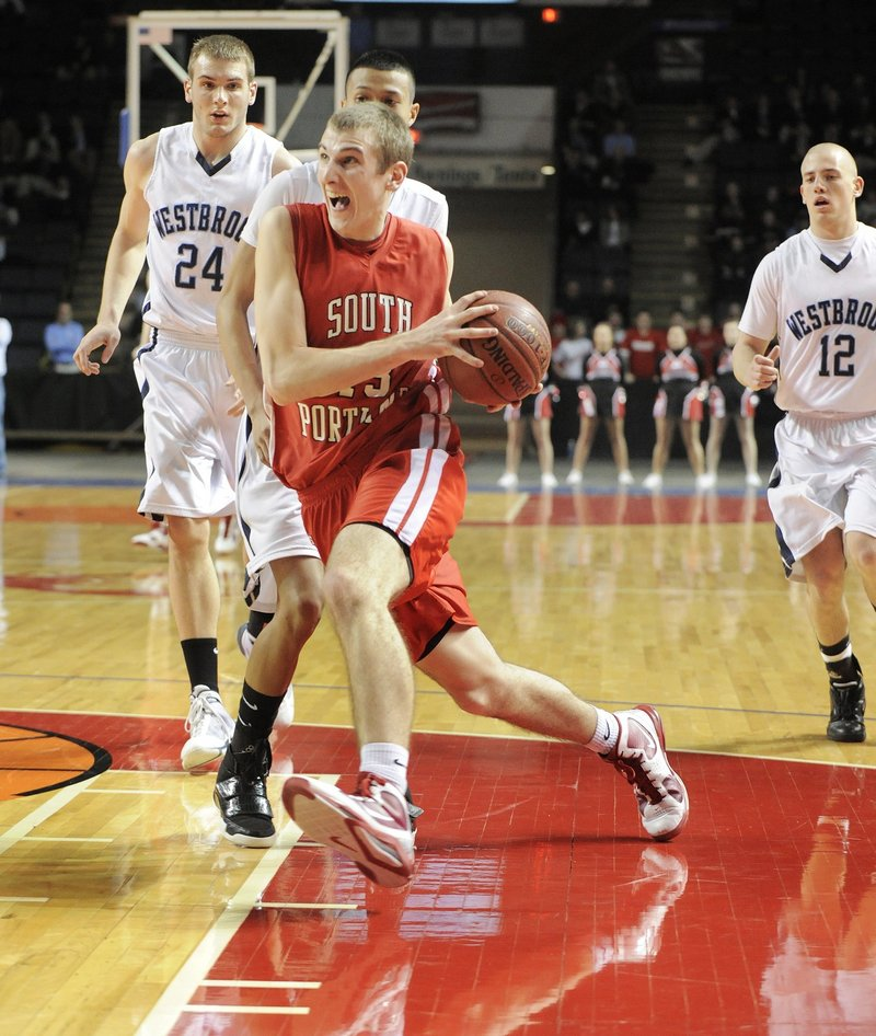 Keegan Hyland, who decided to leave Gonzaga, is the all-time leading scorer for South Portland High despite missing most of his senior season.