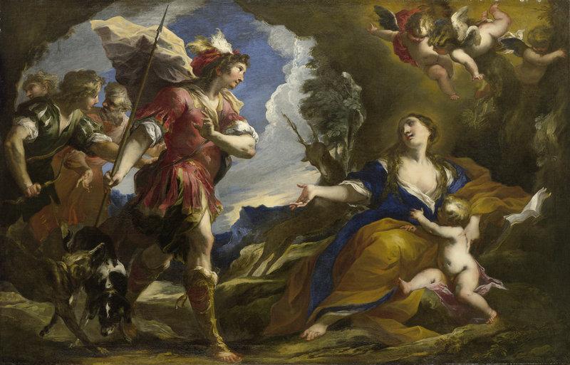 "Valerio Castello's ""The Legend of Saint Genevieve of Brabant,"" circa 1652."
