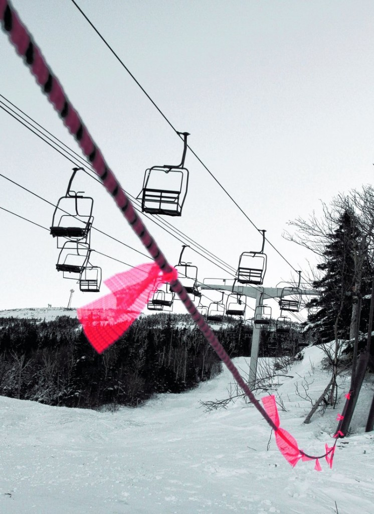 The recent malfunctioning of this chairlift at Sugarloaf makes CNL Lifestyle Properties' willingness to invest in its Maine holdings especially relevant.