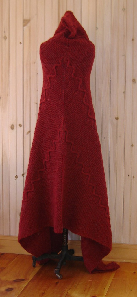 """Cobey's """"Red Serpent Cape."""""""