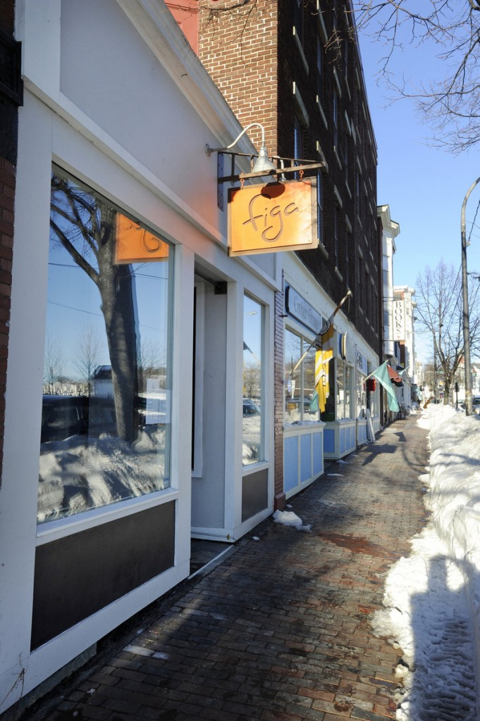 """Figa opened in 2010. """"It turned out exactly how I wanted,"""" says chef/owner Lee Farrington of the building's renovations."""