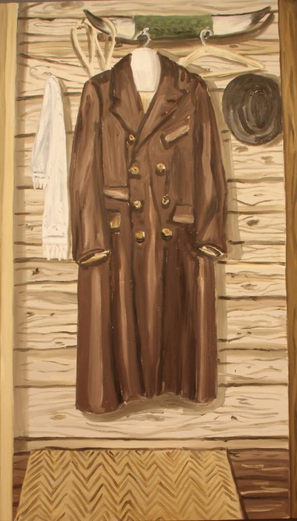 "Richard Bosman's ""Munch's Closet,"" 2002, oil on canvas."