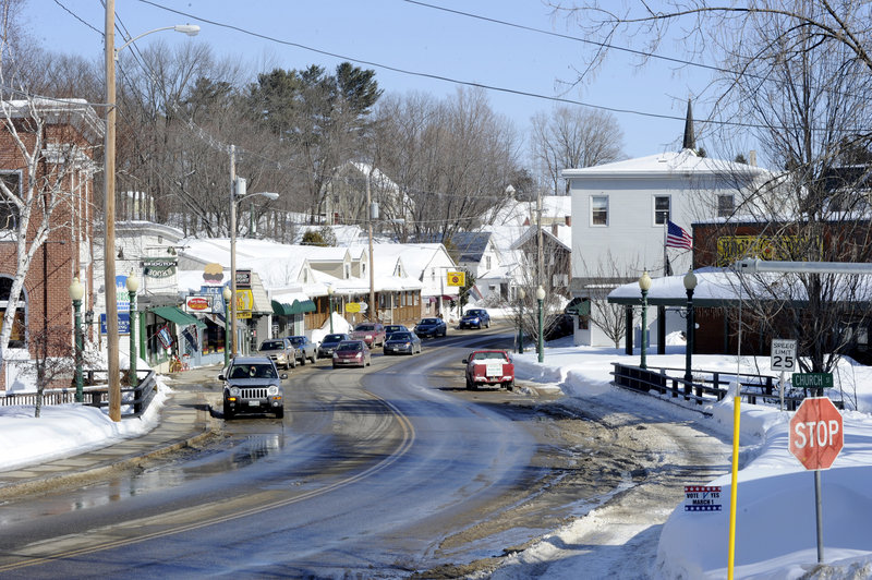 Bridgton voters rejected bans against chain and so-called big-box stores.