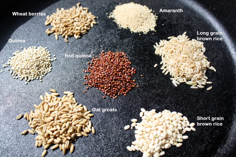 Here are seven examples of whole grains you may want to try.