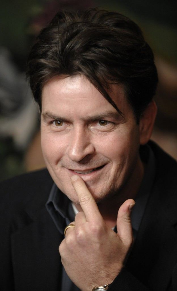 Actor Charlie Sheen, 45, who was officially fired Monday from the cast of TV's top-rated comedy, met the same day with executives at Live Nation Entertainment and is considering a series of stage shows, said the website Radar-Online.