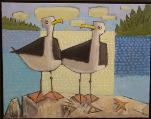 "David Witbeck's ""Two Gulls."""