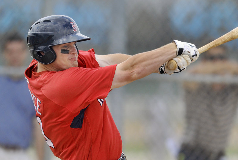 Jason Place, a former Red Sox first-round pick, is striving to open the season again with the Portland Sea Dogs. Last year he began the year in Portland but started slowly, finally leaving the team to attend to personal business.