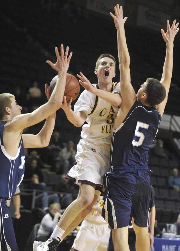 Theo Bowe put up solid numbers for Cape Elizabeth in the regular season, but he saved the best for last with a 36-point dazzler against Camden Hills in the Class B state final.