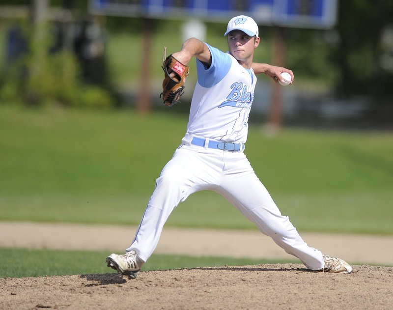 Scott Heath of Westbrook is returning for his senior season after being voted the most valuable player in the Telegram League a year ago. He hit .421, and also had a 7-2 pitching record with 85 strikeouts in 67 innings.