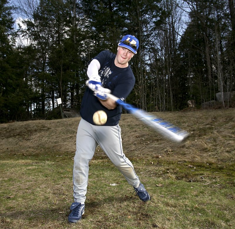 Talk about a tough out. Danny Place hit .588 last season for Lake Region while also directing the pitching staff as the catcher.