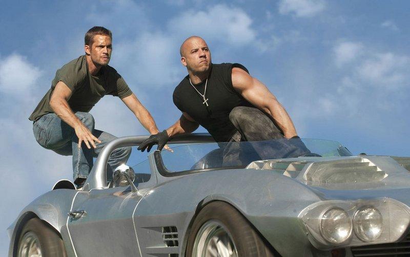 Paul Walker, left, and Vin Diesel.