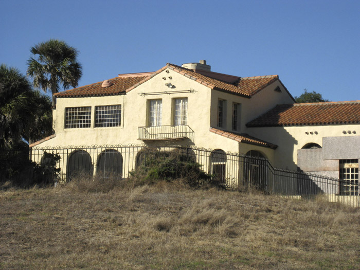 This undated photo shows a five-bedroom, Mediterranean-style mansion once owned by Khalil bin Laden, one of Osama bin Laden's brothers. Khalil, one of the terrorist mastermind's 54 siblings, bought the home in 1980 for $1.6 million, but the wealthy businessman and his family fled their vacation spot under police escort shortly after 9/11, fearing they might be targeted because of the terror attacks. The 1920s-era mansion has sat empty ever since.
